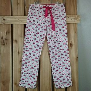 Kiss me Love Pink Pajama Pants Pink VS